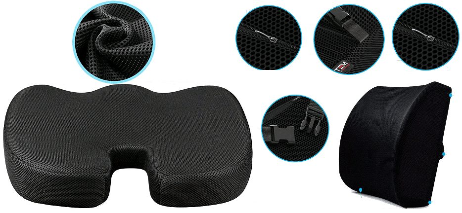 Seat Cushion and Lumbar Support dit