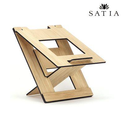 زیر لپتاپی قابل حمل چوبی
